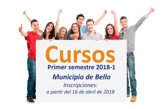 Cursos Municipio de Bello 2018-1