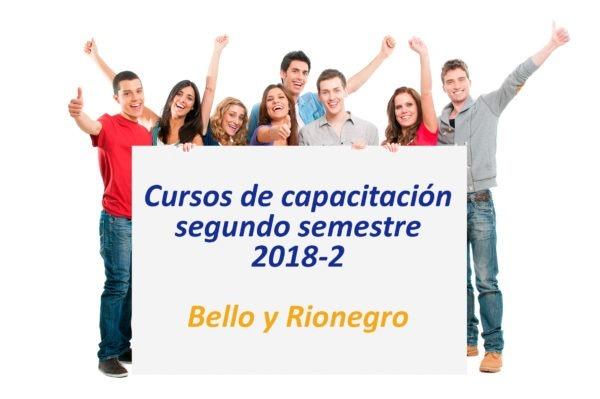 Cursos de capacitación 2018-2